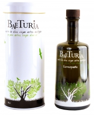 Aceite de oliva virgen extra Carrasqueña Baeturia + estuche