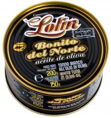 Bonito del Norte en aceite de oliva Lolin