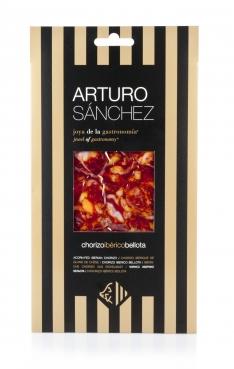 Chorizo de bellota 100% Ibérico Arturo Sánchez cortado a mano