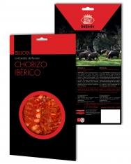 Chorizo ibérico de bellota Revisan Ibéricos loncheado
