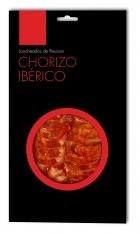 Chorizo ibérico de cebo de campo Revisan Ibéricos loncheado