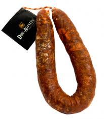 Chorizo Longaniza (Sarta) Extra Ibérica Natural Bellota -Tripa Natural Don Agustín Calidad Superior