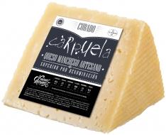 Cuña de queso curado D.O. Manchego mediano Carpuela
