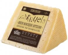 Cuña de queso Manchego D.O. Semicurado mediano Carpuela