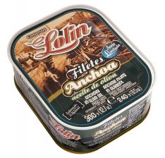 Filete de anchoa en aceite de oliva serie limitada Lolin