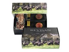 Jamón ibérico de bellota Revisan Ibéricos loncheado - caja premium