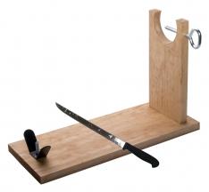 Jamonero Banqueta y cuchillo Steelblade