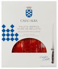 Paleta Ibérica 100% Pura de Bellota cortada a mano Casa de Alba