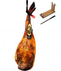 Paleta ibérica de bellota reserva Arturo Sánchez entera + jamonero + cuchillo