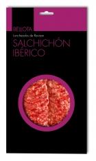 Salchichón ibérico de bellota Revisan Ibéricos loncheado