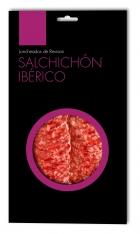 Salchichón ibérico de cebo de campo Revisan Ibéricos loncheado