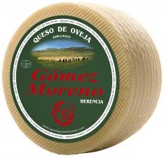 Queso artesano semicurado mediano Gómez Moreno