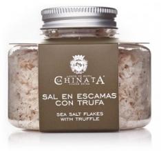 Sal en escamas con trufa La Chinata