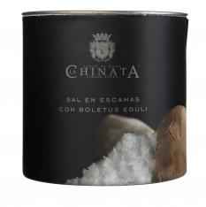 Sal Marina en escamas boletus La Chinata