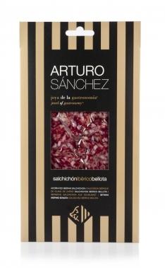 Salchichón de Bellota 100% Ibérico Arturo Sánchez cortado a mano